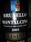 BrunelloMontalcinoLisini2001