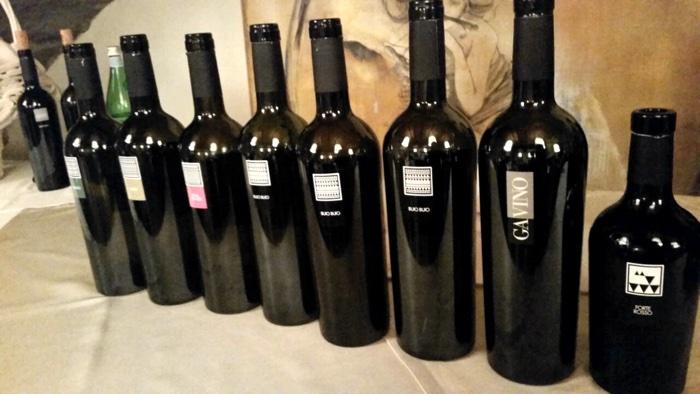 Cantina Mesa - I vini in degustazione