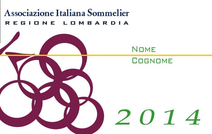 Tessera Associativa Ais Lombardia 2014