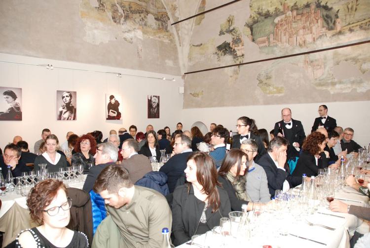 Serata Col D'Orcia con AIS Mantova presso il ristorante La Masseria