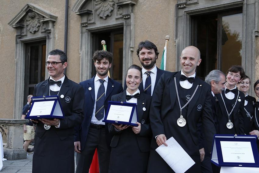 Podio Concorso Miglior Sommelier Professionista della Lombardia 2015