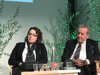 Anna Chiara Baiocchi e Roberto Bellini