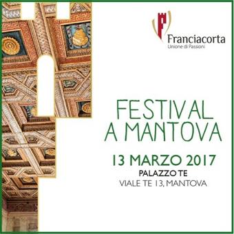 Festival Franciacorta a Mantova | 13 marzo