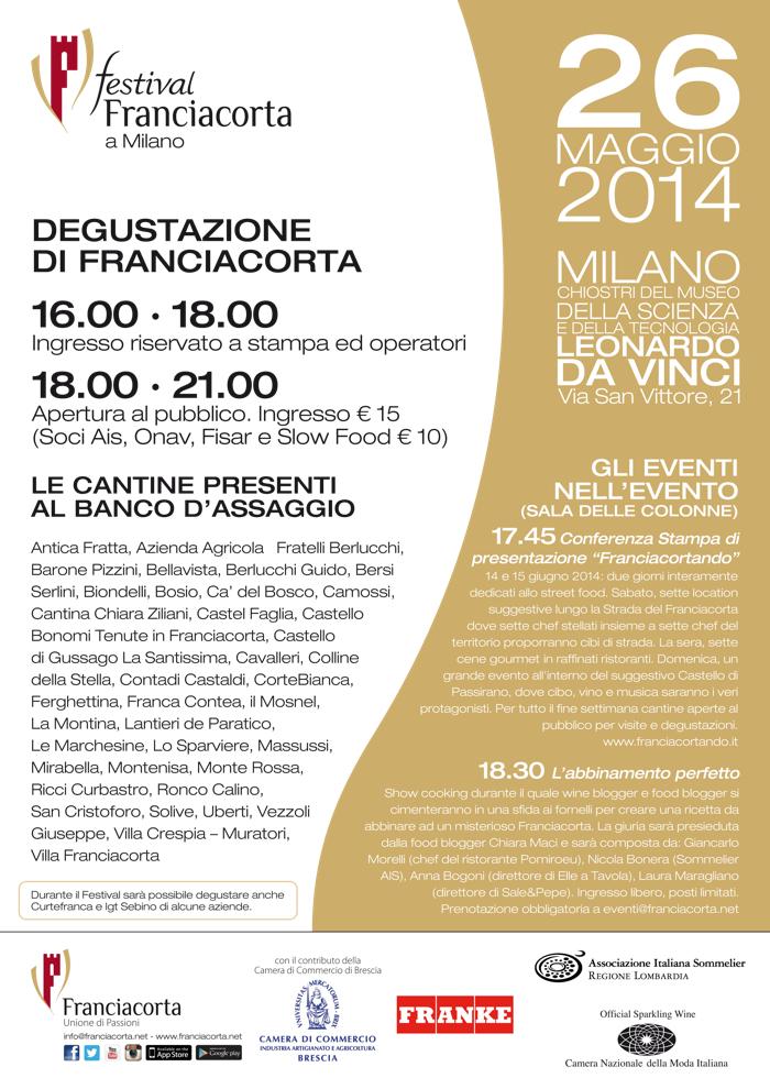 Festival Franciacorta Milano 2014