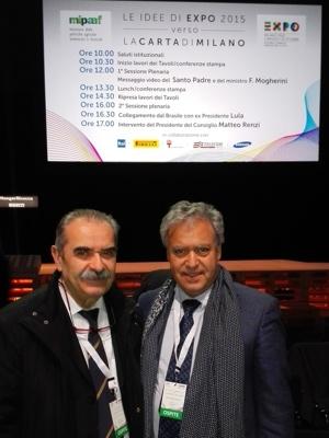 Fiorenzo Detti e Antonello Maietta - Expo2015 Carta Di Milano