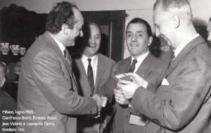 Gianfranco Botti, Ernesto Rossi, Jean Valenti, Leonardo Guerra