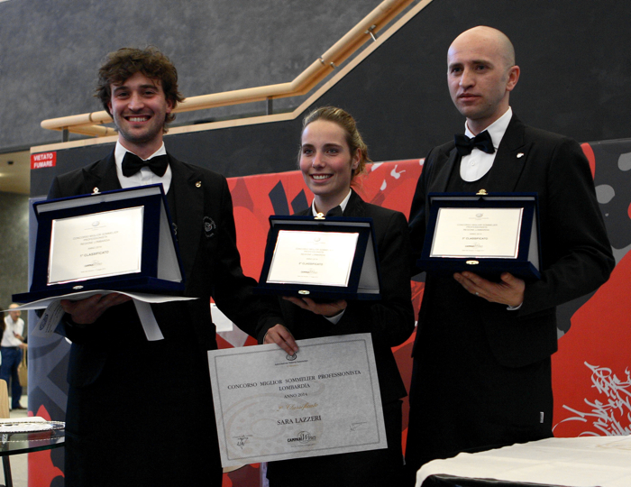Gianluca Gastaldi, Sara Lazzeri e Calandrino Telemaco