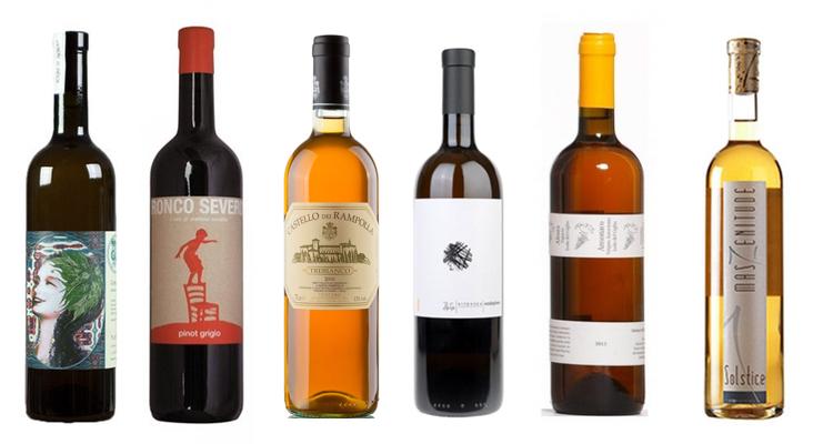 I vini della serata