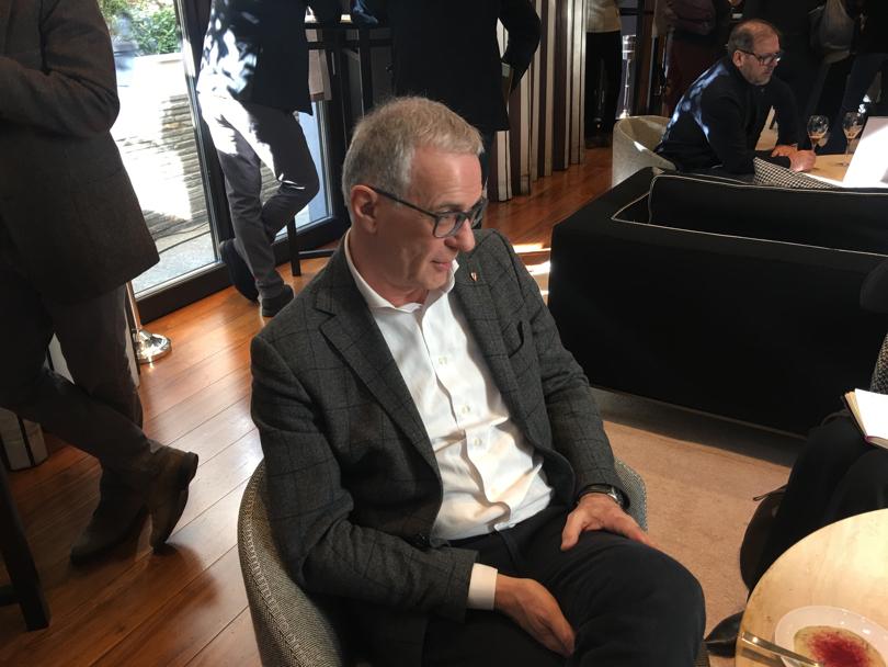Giuseppe Salvioni, amministratore delegato Consorzio Franciacorta