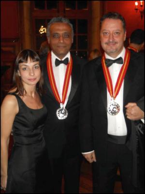 Amalia della Gatta, Hosam Eldin e Armando Castagno