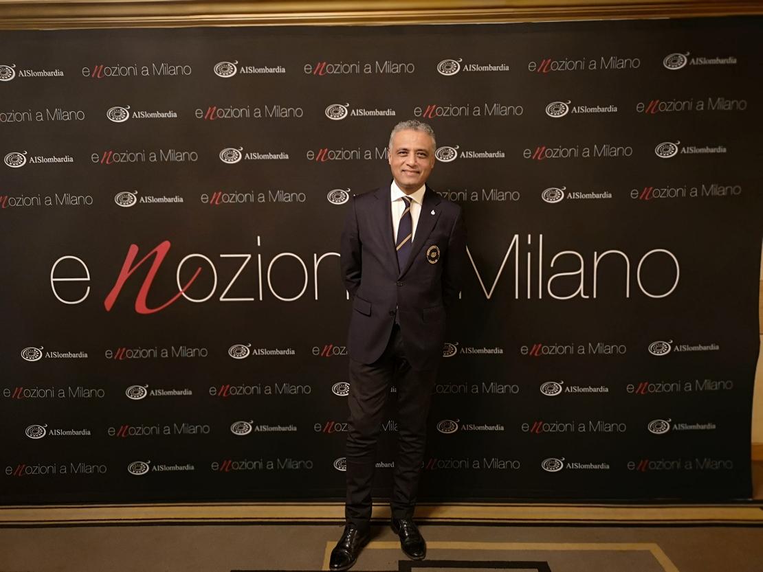 Hosam Eldin Abou Eleyoun, Presidente di AIS Lombardia