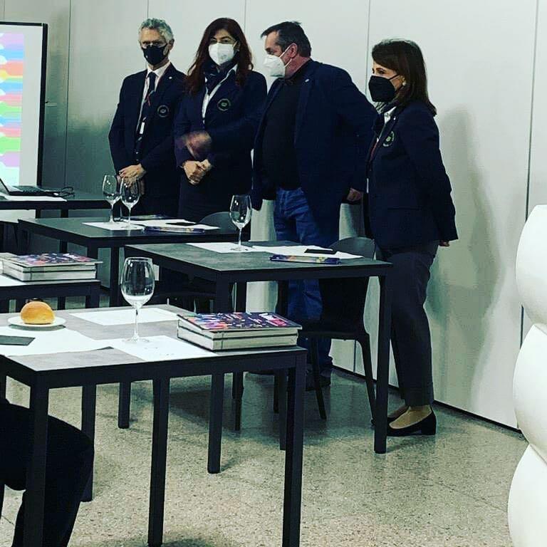 Prima lezione del corso di 1°livello all'Istituto Superiore di San Pellegrino Terme