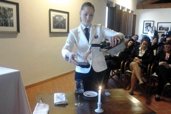 Jessica Michelutti. Miglior Sommelier Junior Over 18 2014
