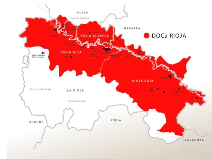 Rioja Cartina