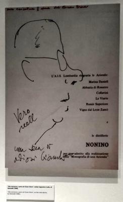Luigi Veronelli - Mostra Triennale - Ais Lombardia e Nonino