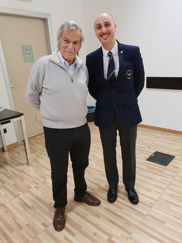Mario Maffi e Benedetto Gareri