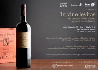 NPH Asta di Beneficenza Milano 3 Dicembre 2012