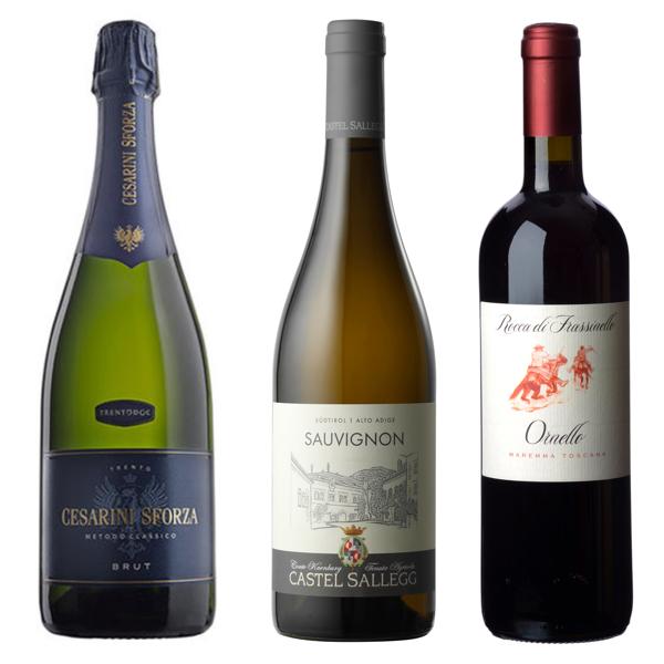I vini della prima serata del 25 novembre