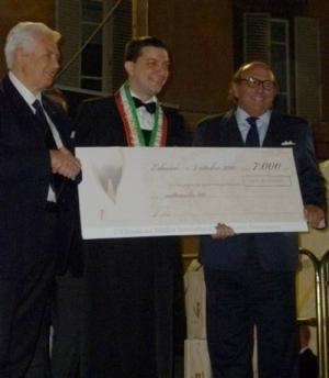 Nicola Bonera - Miglior Sommelier 2010