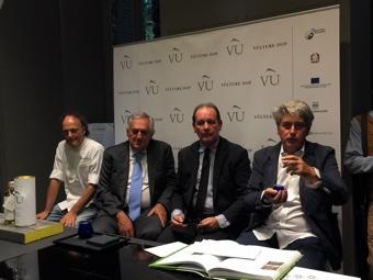 Moreno Cedroni, Luigi Caricato, Presentazione Olio Vù