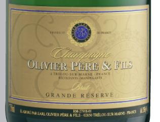 Champagne Olivier Pere & Fils Grande Reserve