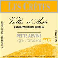 Petite Arvine Les Cretes