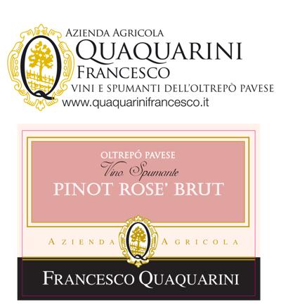 Quaquarini Pinot Rosé Brut