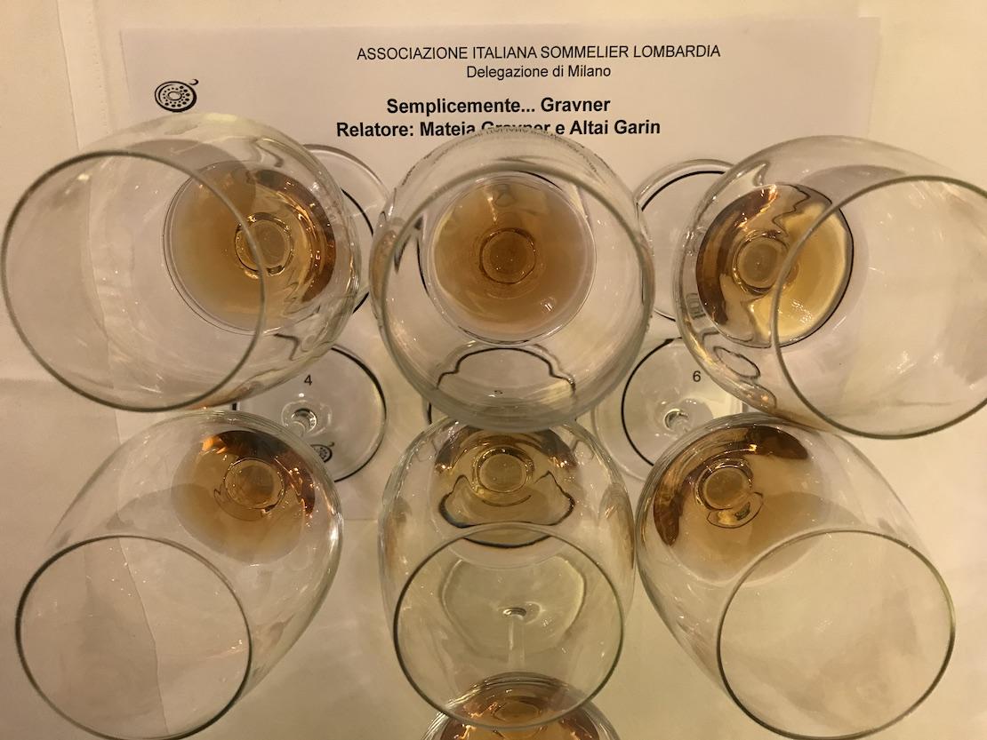 La degustazione dei vini di Josko Gravner