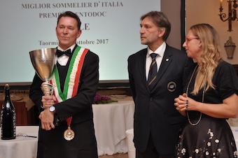 Roberto Anesi, miglior sommelier d'Italia