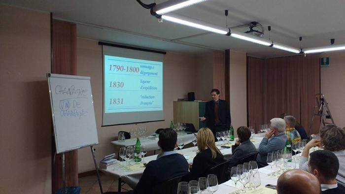 Samuel Cogliati - Seminario Champagne