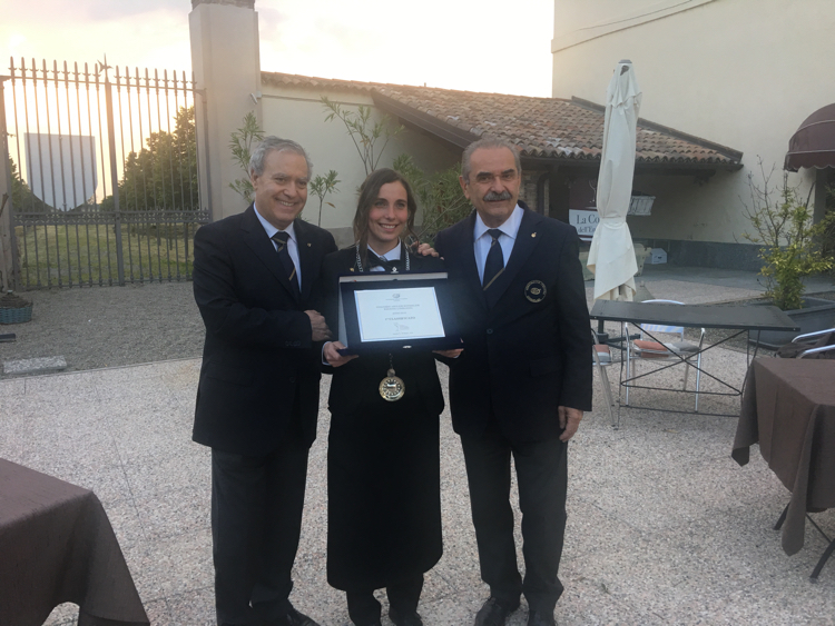 Sara Lazzeri Miglior Sommelier Lombardia 2018