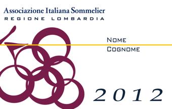 Tessera Ais Lombardia 2012