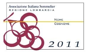 Tessera Soci Ais Lombardia 2011