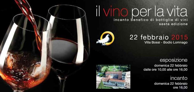 Un vino per la vita 2015