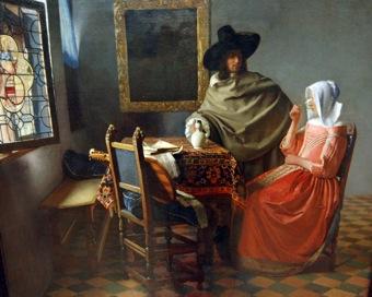 Jan Vermeer - Il bicchiere di vino