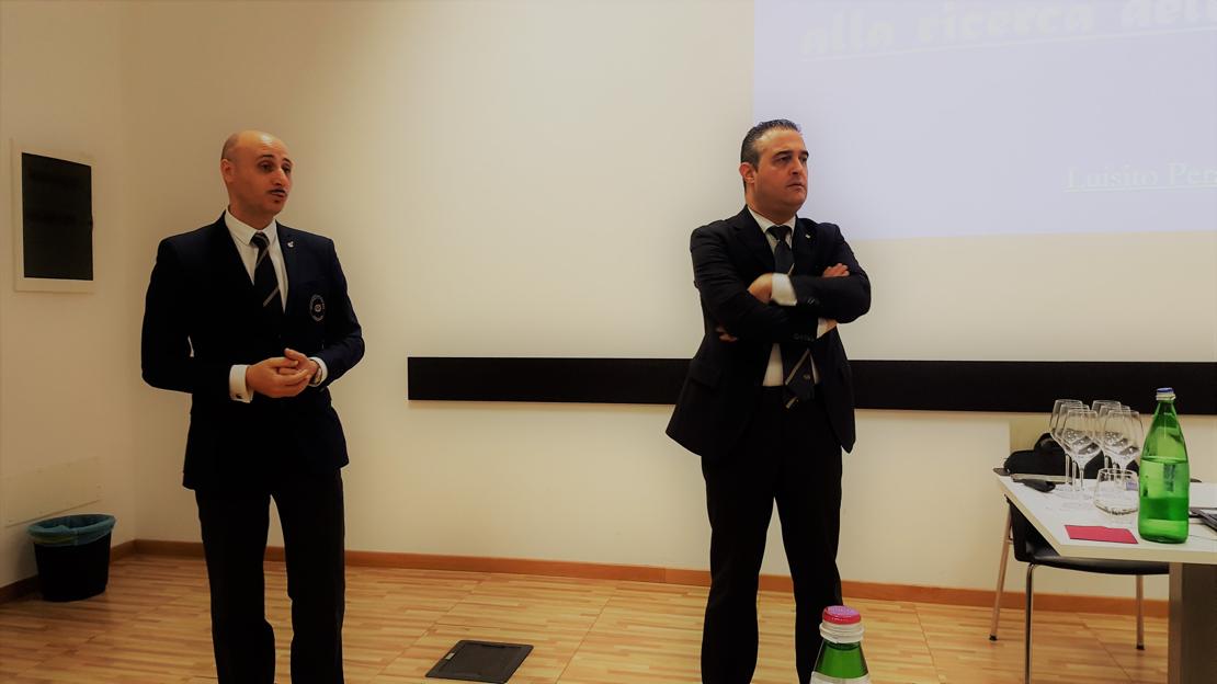 Da sinistra, Benedetto Gareri e Luisito Perazzo