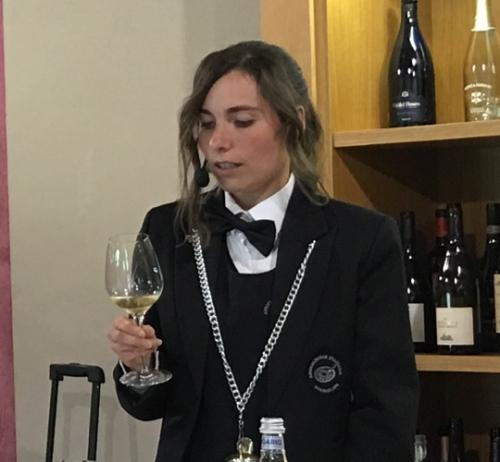 Sara Lazzeri, miglior Sommelier della Lombardia 2018